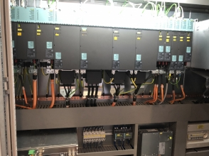 Control cabinet after retrofit